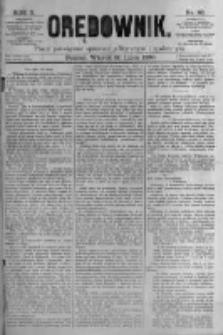 Orędownik: pismo poświęcone sprawom politycznym i spółecznym. 1880.07.20 R.10 nr86