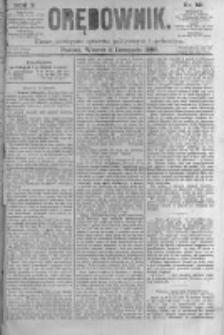 Orędownik: pismo poświęcone sprawom politycznym i spółecznym. 1880.11.02 R.10 nr131