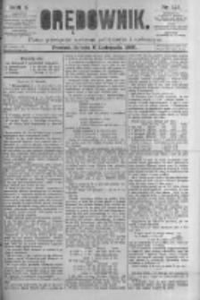Orędownik: pismo poświęcone sprawom politycznym i spółecznym. 1880.11.06 R.10 nr133