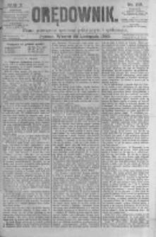 Orędownik: pismo poświęcone sprawom politycznym i spółecznym. 1880.11.23 R.10 nr140