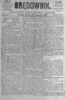 Orędownik: pismo poświęcone sprawom politycznym i spółecznym. 1880.11.27 R.10 nr142