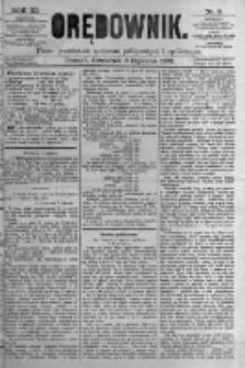 Orędownik: pismo poświęcone sprawom politycznym i spółecznym. 1881.01.06 R.11 nr3