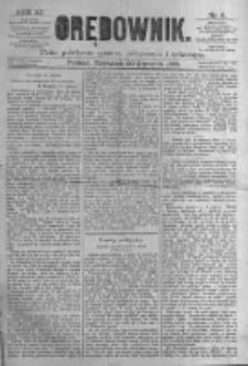 Orędownik: pismo poświęcone sprawom politycznym i spółecznym. 1881.01.20 R.11 nr9
