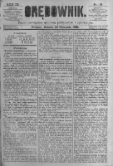Orędownik: pismo poświęcone sprawom politycznym i spółecznym. 1881.01.29 R.11 nr13