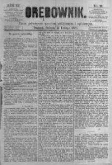 Orędownik: pismo poświęcone sprawom politycznym i spółecznym. 1881.02.12 R.11 nr19