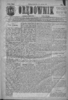 Orędownik: najstarsze ludowe pismo narodowe i katolickie w Wielkopolsce 1911.01.03 R.41 Nr2