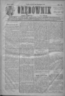 Orędownik: najstarsze ludowe pismo narodowe i katolickie w Wielkopolsce 1911.01.05 R.41 Nr4
