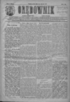 Orędownik: najstarsze ludowe pismo narodowe i katolickie w Wielkopolsce 1911.01.06 R.41 Nr5