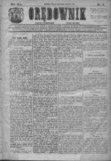 Orędownik: najstarsze ludowe pismo narodowe i katolickie w Wielkopolsce 1911.01.10 R.41 Nr7