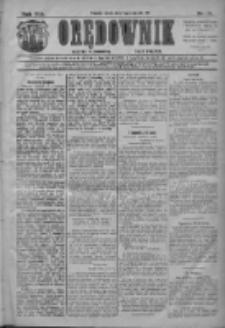 Orędownik: najstarsze ludowe pismo narodowe i katolickie w Wielkopolsce 1911.01.11 R.41 Nr8