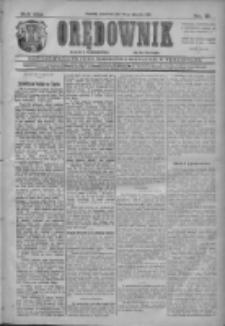 Orędownik: najstarsze ludowe pismo narodowe i katolickie w Wielkopolsce 1911.01.19 R.41 Nr15