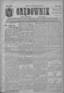 Orędownik: najstarsze ludowe pismo narodowe i katolickie w Wielkopolsce 1911.01.24 R.41 Nr19