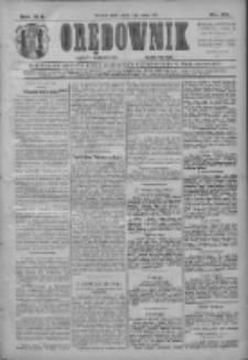 Orędownik: najstarsze ludowe pismo narodowe i katolickie w Wielkopolsce 1911.02.04 R.41 Nr28