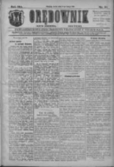 Orędownik: najstarsze ludowe pismo narodowe i katolickie w Wielkopolsce 1911.02.08 R.41 Nr31