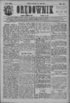 Orędownik: najstarsze ludowe pismo narodowe i katolickie w Wielkopolsce 1911.02.15 R.41 Nr37
