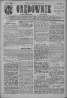 Orędownik: najstarsze ludowe pismo narodowe i katolickie w Wielkopolsce 1911.02.16 R.41 Nr38