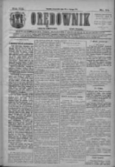 Orędownik: najstarsze ludowe pismo narodowe i katolickie w Wielkopolsce 1911.02.23 R.41 Nr44