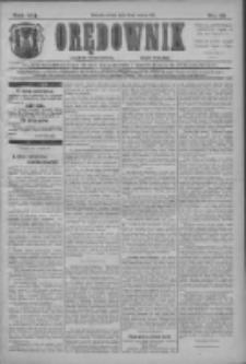 Orędownik: najstarsze ludowe pismo narodowe i katolickie w Wielkopolsce 1911.03.15 R.41 Nr61