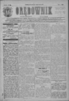 Orędownik: najstarsze ludowe pismo narodowe i katolickie w Wielkopolsce 1911.03.21 R.41 Nr66