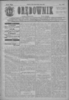 Orędownik: najstarsze ludowe pismo narodowe i katolickie w Wielkopolsce 1911.03.22 R.41 Nr67