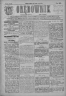 Orędownik: najstarsze ludowe pismo narodowe i katolickie w Wielkopolsce 1911.03.24 R.41 Nr69