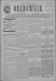 Orędownik: najstarsze ludowe pismo narodowe i katolickie w Wielkopolsce 1911.03.25 R.41 Nr70