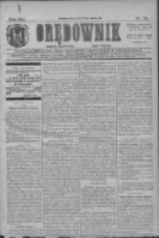 Orędownik: najstarsze ludowe pismo narodowe i katolickie w Wielkopolsce 1911.03.28 R.41 Nr71