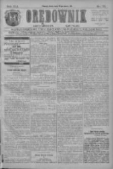 Orędownik: najstarsze ludowe pismo narodowe i katolickie w Wielkopolsce 1911.03.29 R.41 Nr72