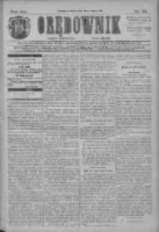 Orędownik: najstarsze ludowe pismo narodowe i katolickie w Wielkopolsce 1911.03.30 R.41 Nr73