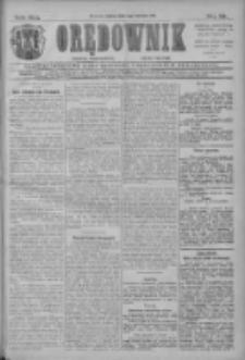 Orędownik: najstarsze ludowe pismo narodowe i katolickie w Wielkopolsce 1911.04.01 R.41 Nr75