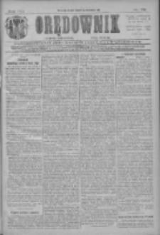 Orędownik: najstarsze ludowe pismo narodowe i katolickie w Wielkopolsce 1911.04.05 R.41 Nr78
