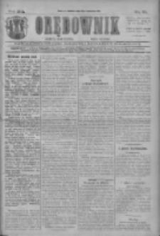Orędownik: najstarsze ludowe pismo narodowe i katolickie w Wielkopolsce 1911.04.08 R.41 Nr81