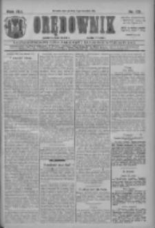 Orędownik: najstarsze ludowe pismo narodowe i katolickie w Wielkopolsce 1911.04.11 R.41 Nr83