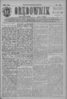 Orędownik: najstarsze ludowe pismo narodowe i katolickie w Wielkopolsce 1911.04.12 R.41 Nr84
