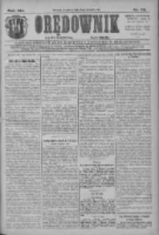 Orędownik: najstarsze ludowe pismo narodowe i katolickie w Wielkopolsce 1911.04.13 R.41 Nr85