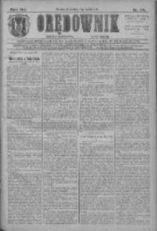 Orędownik: najstarsze ludowe pismo narodowe i katolickie w Wielkopolsce 1911.04.14 R.41 Nr86