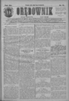 Orędownik: najstarsze ludowe pismo narodowe i katolickie w Wielkopolsce 1911.04.21 R.41 Nr91