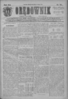 Orędownik: najstarsze ludowe pismo narodowe i katolickie w Wielkopolsce 1911.04.22 R.41 Nr92