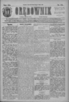 Orędownik: najstarsze ludowe pismo narodowe i katolickie w Wielkopolsce 1911.04.27 R.41 Nr96