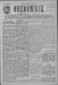 Orędownik: najstarsze ludowe pismo narodowe i katolickie w Wielkopolsce 1911.04.28 R.41 Nr97