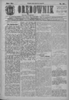 Orędownik: najstarsze ludowe pismo narodowe i katolickie w Wielkopolsce 1911.05.03 R.41 Nr101