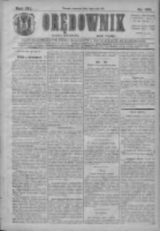Orędownik: najstarsze ludowe pismo narodowe i katolickie w Wielkopolsce 1911.05.04 R.41 Nr102