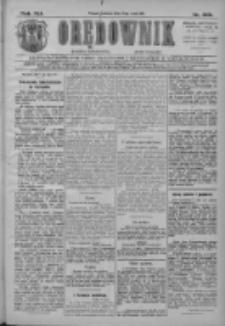 Orędownik: najstarsze ludowe pismo narodowe i katolickie w Wielkopolsce 1911.05.14 R.41 Nr109