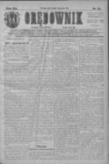 Orędownik: najstarsze ludowe pismo narodowe i katolickie w Wielkopolsce 1911.05.16 R.41 Nr111