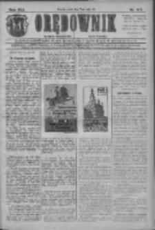 Orędownik: najstarsze ludowe pismo narodowe i katolickie w Wielkopolsce 1911.05.17 R.41 Nr112