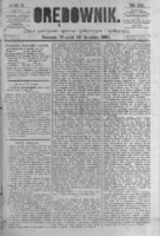 Orędownik: pismo poświęcone sprawom politycznym i spółecznym. 1880.12.28 R.10 nr155