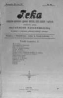 Teka: czasopismo poświęcone sprawom młodzieży szkół średnich i wyższych wydawane przez młodzież akademicką. 1900 R.2 nr2
