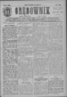 Orędownik: najstarsze ludowe pismo narodowe i katolickie w Wielkopolsce 1911.05.24 R.41 Nr118