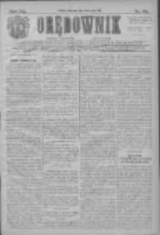 Orędownik: najstarsze ludowe pismo narodowe i katolickie w Wielkopolsce 1911.05.25 R.41 Nr119