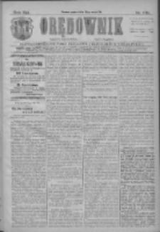 Orędownik: najstarsze ludowe pismo narodowe i katolickie w Wielkopolsce 1911.05.27 R.41 Nr120
